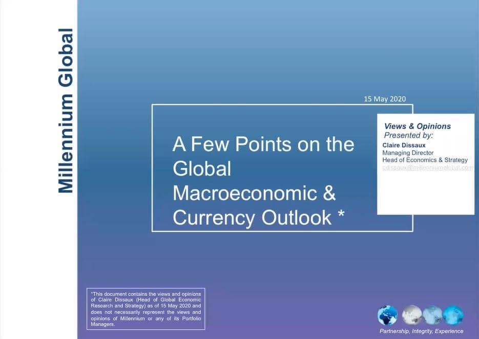 Macro currency outlook may 2020